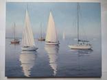 Картины В ожидании ветра и Лунная ночь в гавани