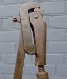 Ключ трубный газовый разводной большой (СССР) 50 см. photo 6