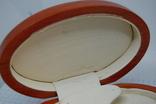 Коробочка овальная для сережек, комплекта, часов, браслета, фото №9