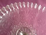 Вазы - конфетницы на ножке.  Мальцевское стекло. Россия, до 1917 г., фото №7