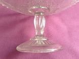 Вазы - конфетницы на ножке.  Мальцевское стекло. Россия, до 1917 г., фото №9