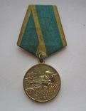 Медаль За освоение целинных земель.