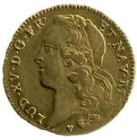 2 Луидора 1760г. Франция