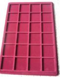 Палета / планшет для монет (24 отверстия размером 46*46 мм), фото №2