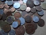 Большая Гора иностранных монет без наших. фото 12