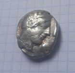 Афины тетрадрахма