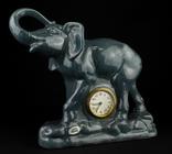 Настольные, каминные часы. S&G Keramik. 50-е годы. Германия. (0188)