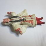 Елочная игрушка. Азиатка (вата), фото №3