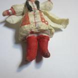 Елочная игрушка. Азиатка (вата), фото №5