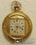 Карманные золотые часы.Швейцария.750 проба.