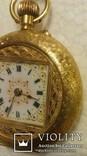 Карманные золотые часы.Швейцария.750 проба. photo 4
