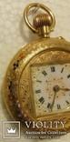 Карманные золотые часы.Швейцария.750 проба. photo 5