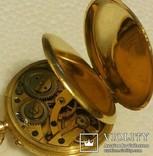 Карманные золотые часы.Швейцария.750 проба. photo 7