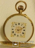 Карманные золотые часы.Швейцария.750 проба. photo 10