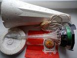 Світильник нічник эпоха стан нового (з коробкою і паперовою памяткою) робочий