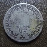 1 франк 1872  Франция   серебро     (А.7.18)~, фото №3