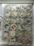 Kолекція монет України / Коллекция 1995-2019 из недрагоценных металлов. Без ЄБРР, фото №6