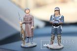 """Два вояки 41 та 42 року """"вага 151 грам. висота 6,3 см., фото №4"""