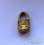 Золотая ароматница 2-4 век 3,1г