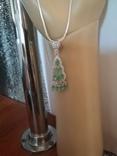 Ожерелье с прозрачными изумрудами, фото №3