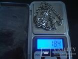 Цепочка серебро 925пр./18,4гр., фото №6