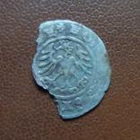 Полугрош 1509  коронный   серебро   (М.4.24)~, фото №3