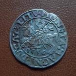 Полугрош  1556   серебро   (М.3.18)~, фото №2