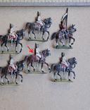 Солдатики оловянные - Германия - прусская кавалерия. photo 2