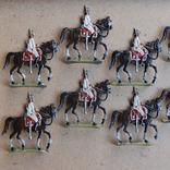 Солдатики оловянные - Германия - прусская кавалерия. photo 3