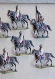 Солдатики оловянные - Германия - прусская кавалерия. photo 5