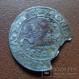 Полугрош 1560   серебро   (М.4.2)~, фото №2