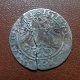 Полугрош 1561  серебро (М.3.24)~, фото №4