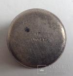 Рюмка - стопка. Мельхиор CCCP, позолота., фото №6