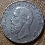 Баден 5 марок 1894 г., фото №2