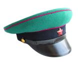 Суконная фуражка пограничных войск КГБ образца 1953г. клеймо 1967г., фото №3