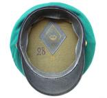 Суконная фуражка пограничных войск КГБ образца 1953г. клеймо 1967г., фото №6
