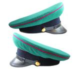 Суконная фуражка пограничных войск КГБ образца 1953г. клеймо 1967г., фото №7