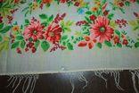 Шерстяной старинный платок №288, фото №6