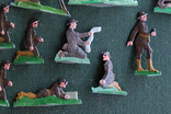 Солдатики оловянные - Германия - английские пулеметчики. photo 2