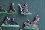 Солдатики оловянные - Германия - английские пулеметчики. photo 3