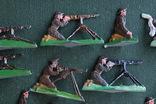 Солдатики оловянные - Германия - английские пулеметчики. photo 4