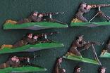 Солдатики оловянные - Германия - английские пулеметчики. photo 5