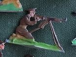 Солдатики оловянные - Германия - английские пулеметчики. photo 7