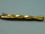 Зажим для галстука. Золото., фото №4