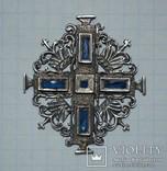Крест 18-го века, серебро, фото №2