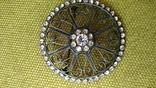 Брошь серебро 875пр. звезда, фото №9