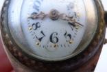 Старинные наручные Швейцарские часы в серебре с чернью. photo 5