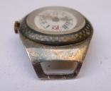 Старинные наручные Швейцарские часы в серебре с чернью. photo 9