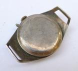 Старинные наручные Швейцарские часы в серебре с чернью. photo 10