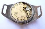 Старинные наручные Швейцарские часы в серебре с чернью. photo 12